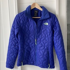 NORTH FACE GEOMETRIC PATTERN JACKET
